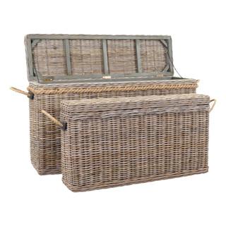 Sabrina Basket Console With Storage